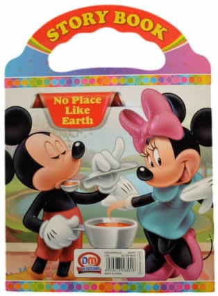 No Place Like Earth Mickey Mouse Story Book