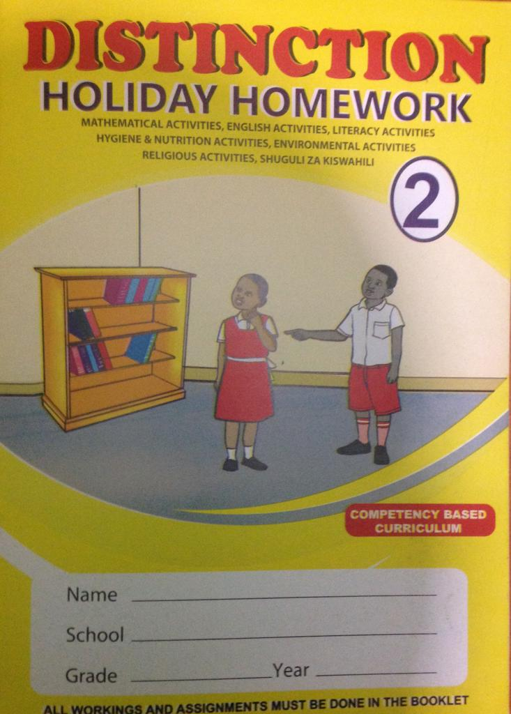 Distinction Holiday Homework Book