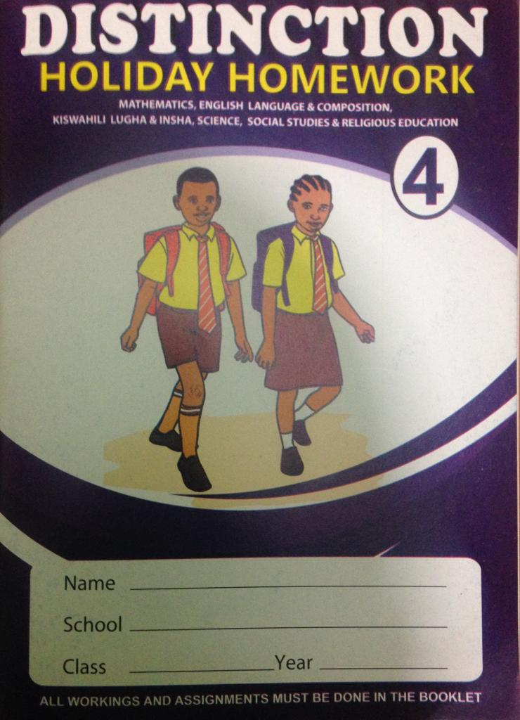 Distinction Holiday Homework Book