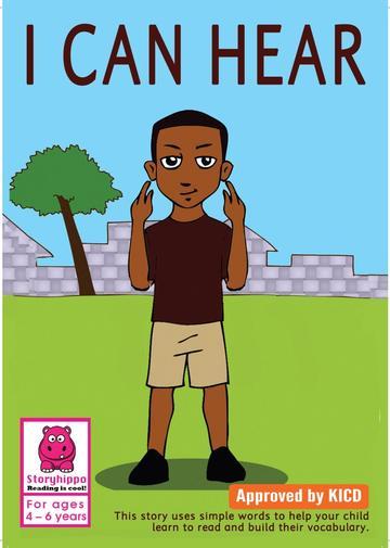 I Can Hear Storymoja readers 3-5 years