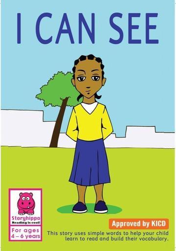 I Can See Storymoja readers 3 - 5 years