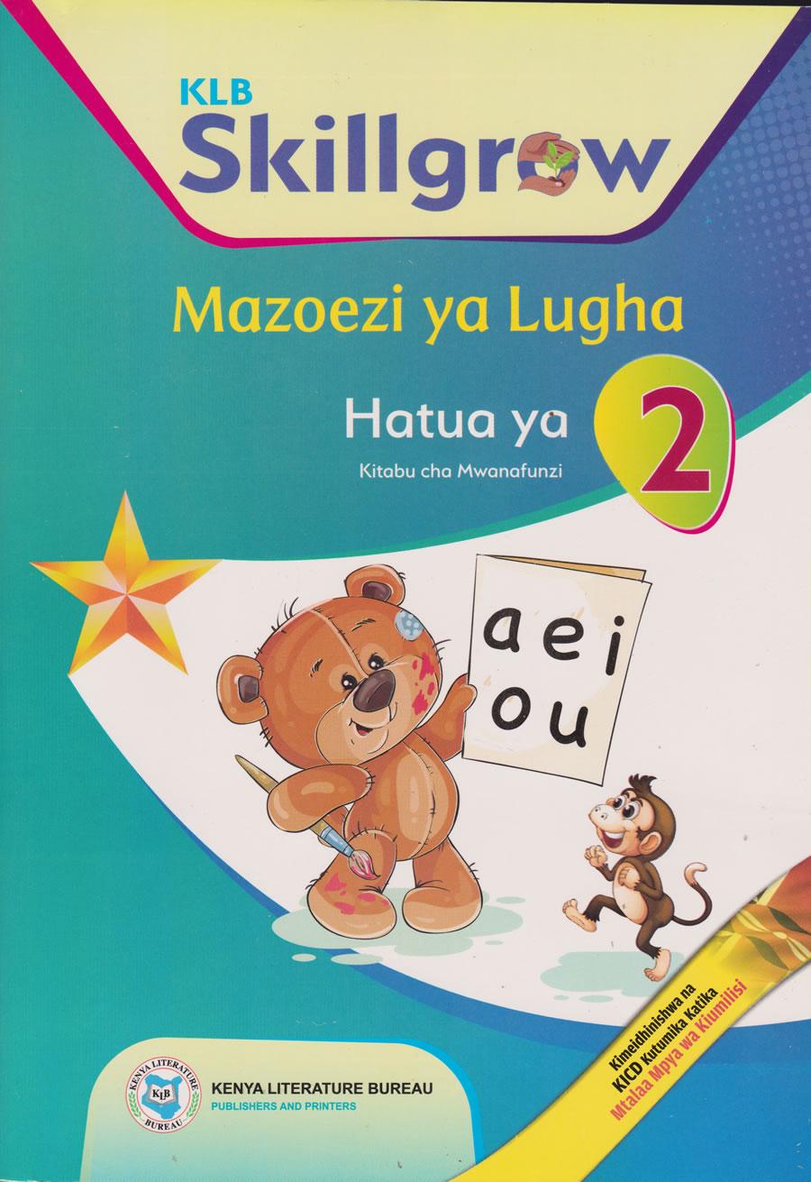 KLB Skillgrow Mazoezi ya Lugha Hatua ya 2 klb pp2
