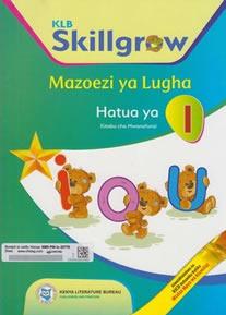 KLB Skillgrow Mazoezi ya Lugha PP1