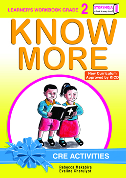 Storymoja Know More CRE Activities Grade 2