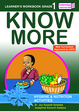 Storymoja Know More Hygiene & Nutrition Grade1