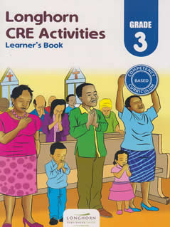 Longhorn CRE Activities Learner's Book Grade 3