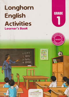 Longhorn English Activities Grade 1