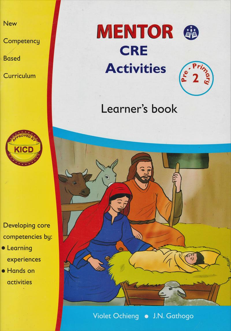 Mentor CRE Activities PP2 Textbook