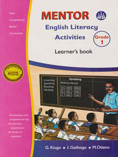 Mentor English Literacy Activities Grade 1