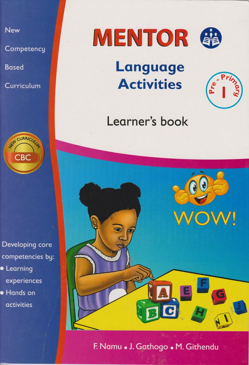 Mentor Language Activities PP1