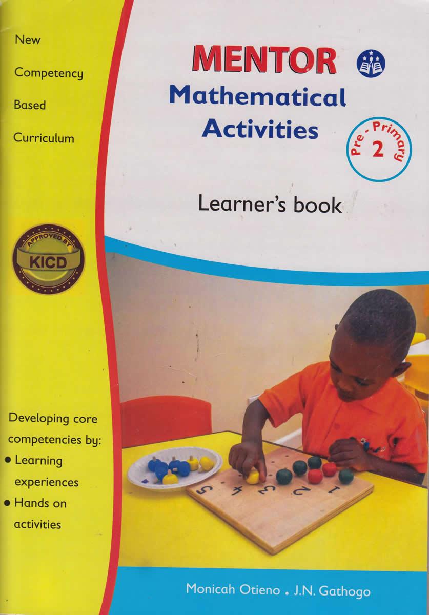 Mentor Mathematical activities PP2