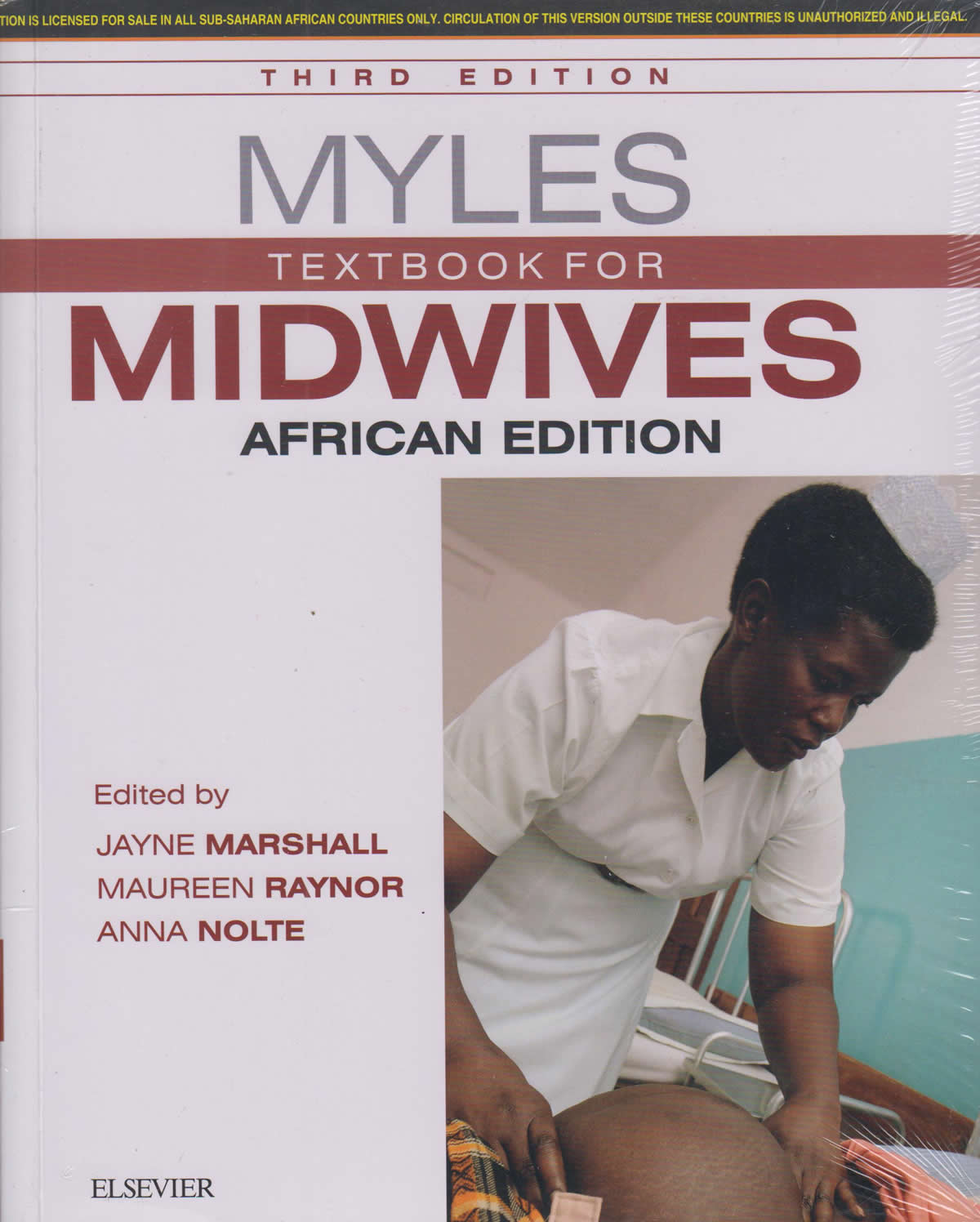 Myles Textbook for Midwives African Edition 3