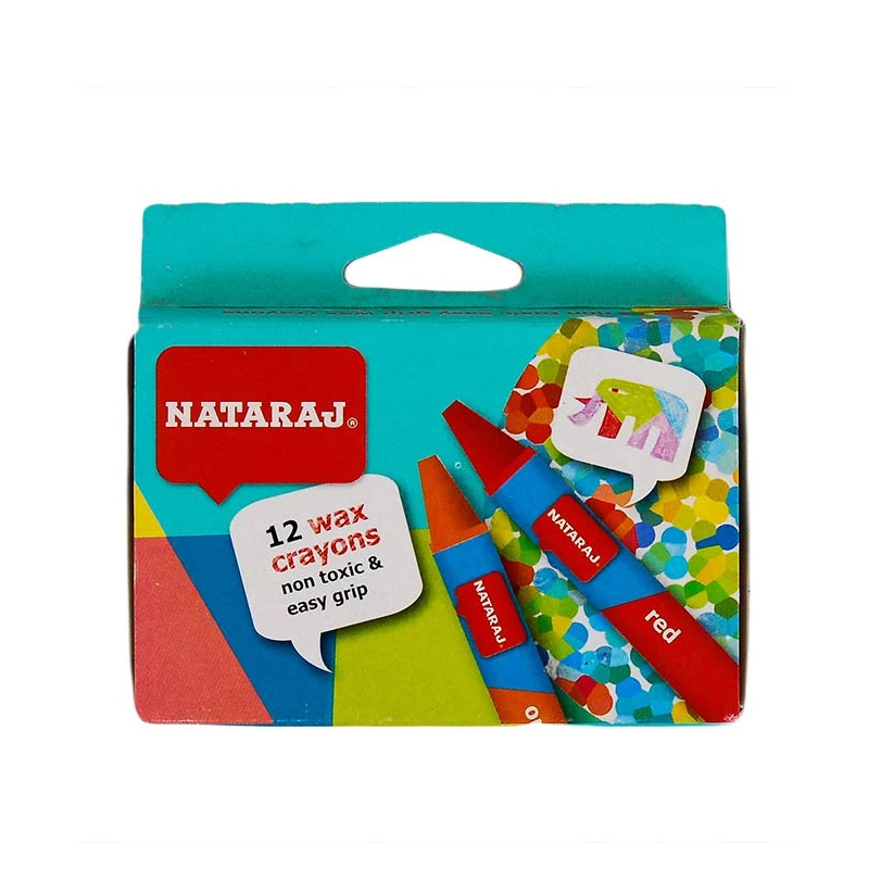 Crayons Nataraj 12s