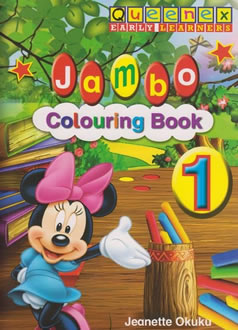 Jambo Colouring Book 1