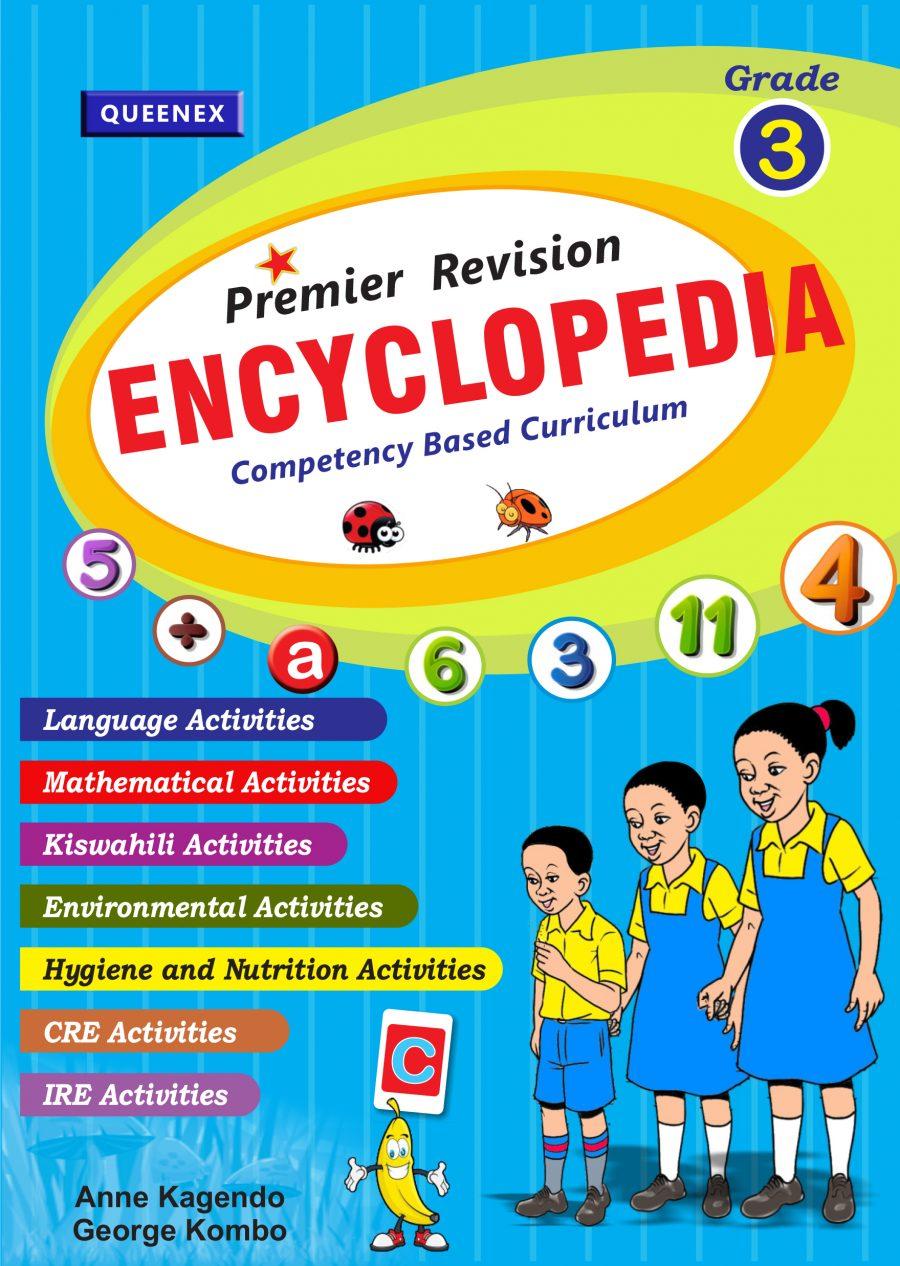 Queenex Premier revision Encyclopedia Grade 3