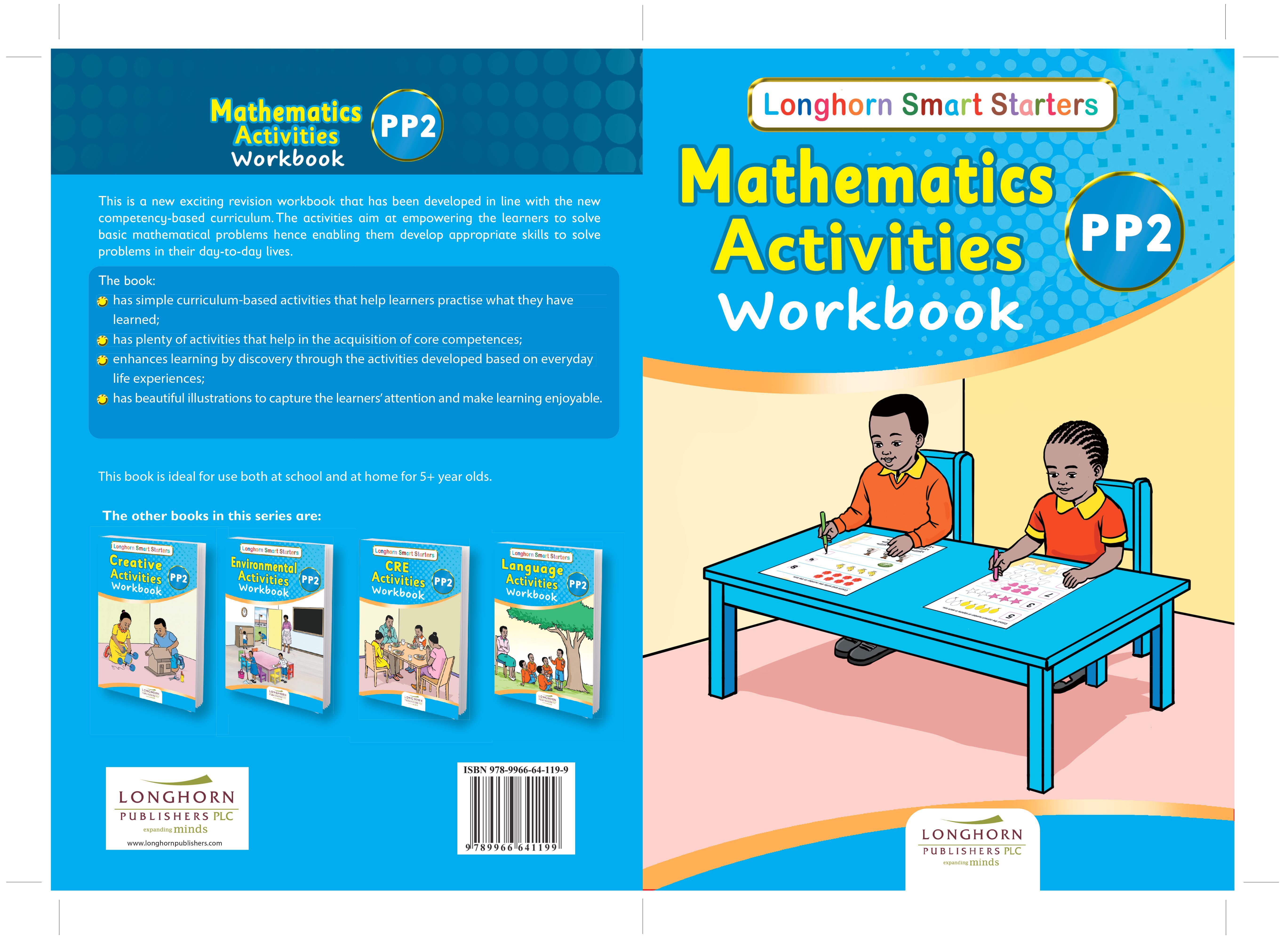Longhorn Smart Starters Mathematics Activities Workbook PP2