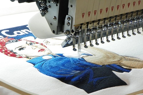 Embroidery services 1000 stitches