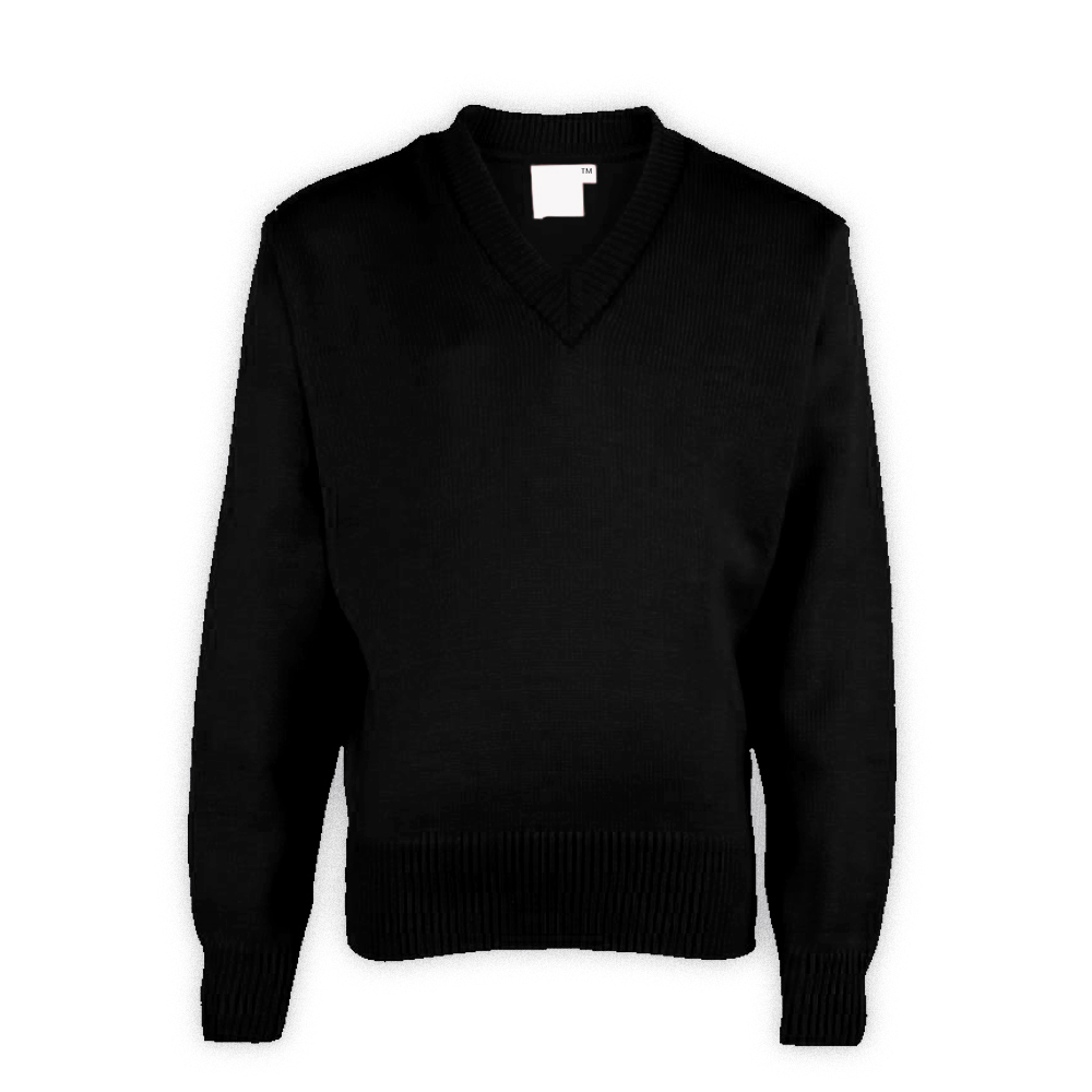 Black Plain School Sweaters