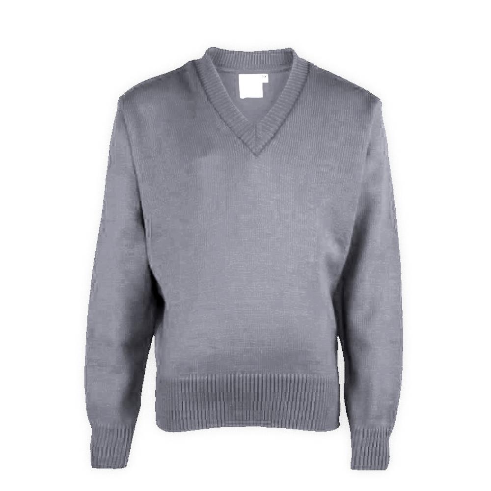 Grey Plain School Sweaters
