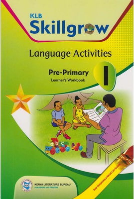 KLB SKILLGROW LANGUAGE ACTIVITIES PRE-PRIMARY  WORKBOOK 1