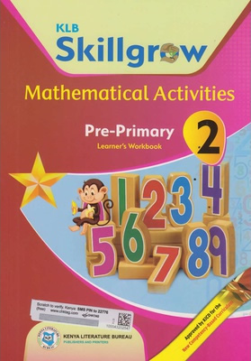 KLB Skillgrow Mathematical Activities Pre-Primary Workbook 2