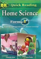Quick Reading Home Science Form 1