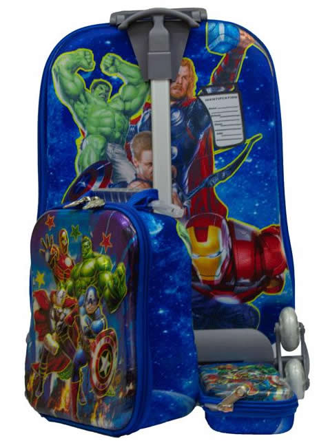 Avengers Suitcase Trolley Set 3in1