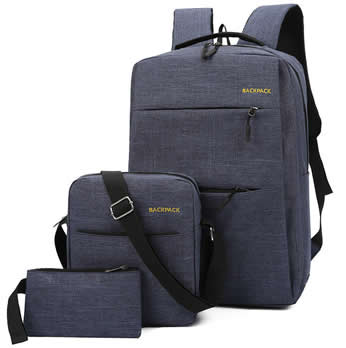 Backpack 3in1 Business casual Navy Blue
