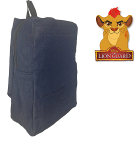 Lion Guard Denim Bag With Name
