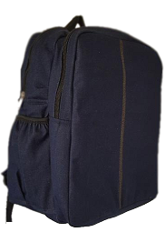 Boarding school denim bag large size