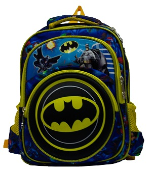 Batman backpack 3D bag for preschoolers