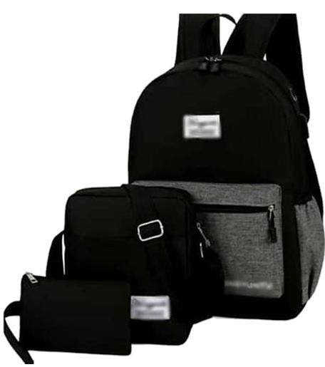 Backpack 3in1 Black Grey Type H
