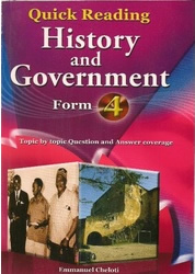 Quick Reading History & Government Form 4