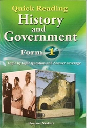 Quick Reading History & Government Form 1