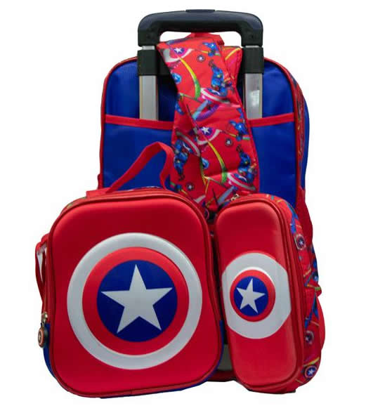 Captain America Removable Trolley 3in1