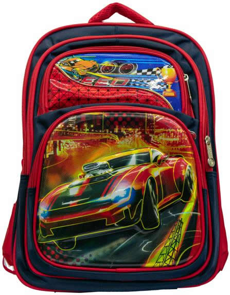 Racing car (speed) 3D Backpack Bag