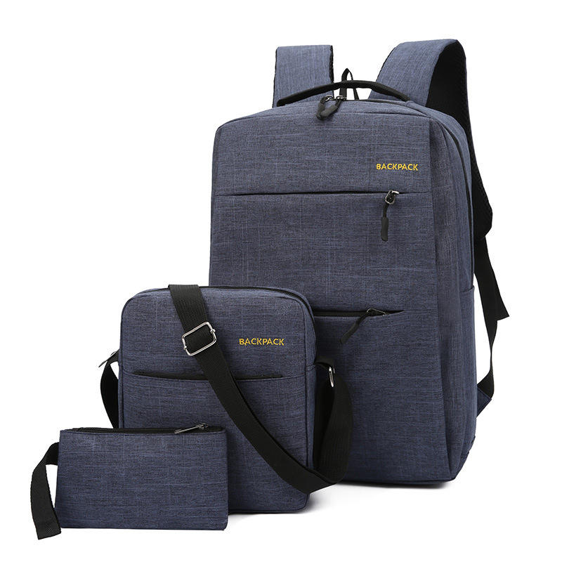 3in1 Business casual bag backpack Navy Blue