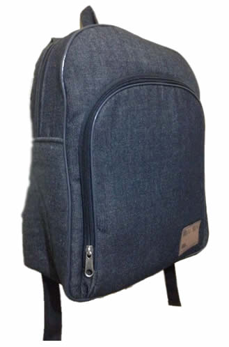 Heavy Denim laptop bag double padded with Lining