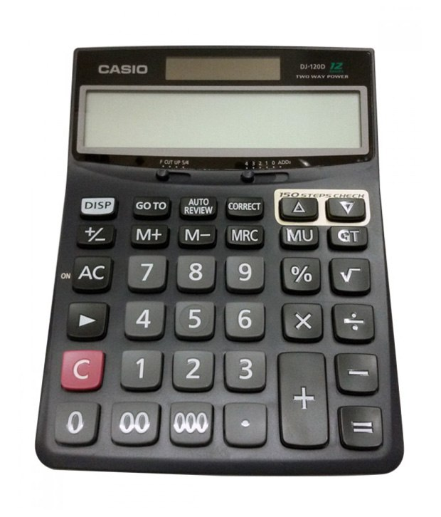 Casio Desk Calculator DJ-120D