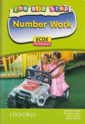 The Big Step Number Work ECDE Pre-Primary 2