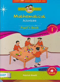 EAEP Fun with Mathematics PP1 Textbook