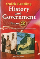 Quick Reading History & Government Form 2