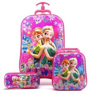 Frozen Suitcase trolley set 3in1