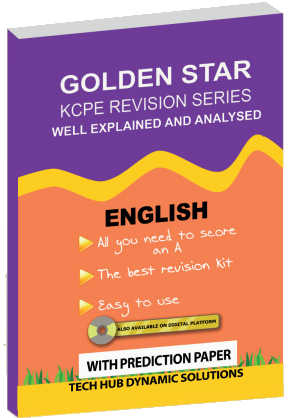 Golden Star KCPE English