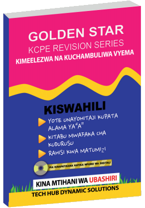 Golden Star KCPE Kiswahili | Revision Books