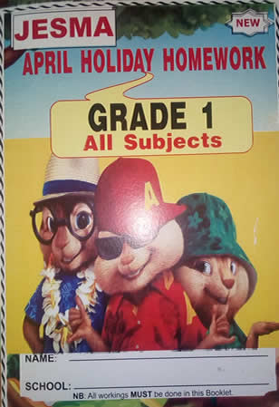 Jesma Holiday Homework Grade 1