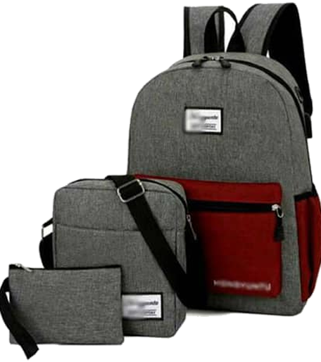 Backpack 3in1 Grey Red Type H