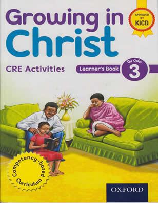 Growing in Christ CRE Activities Grade 3