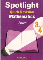 Spotlight Revision Mathematics Form 3,4