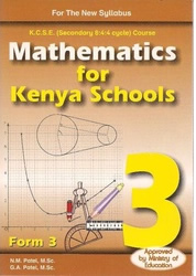 Mathematics For Kenyan Schools Form 3